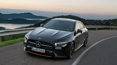 Mercedes CLA - front tracking