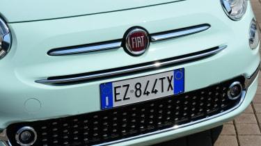 Fiat 500C 2015 nose