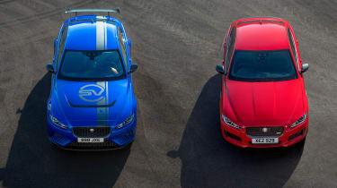 Jaguar XE and Project 8