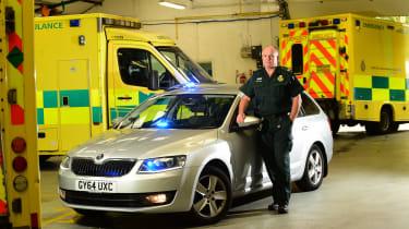 Ambulance feature - Skoda Octavia vRS