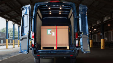 Ford Transit cargo bay
