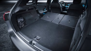 Mercedes B-Class - studio boot seats down