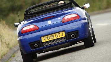 MG TF LE500 rear