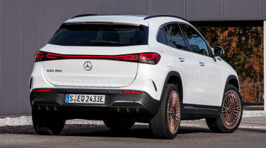 Mercedes EQA - rear static