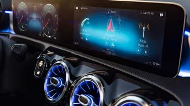 New Mercedes A-Class - screens