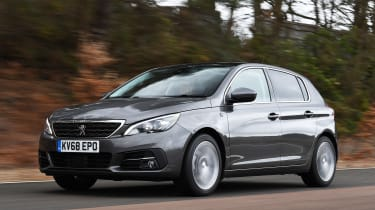 peugeot 308 tracking front