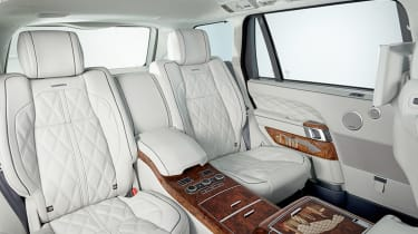 Overfinch London and Manhattan Editions - rear seats