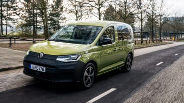 VW Caddy 2020 MPV - front