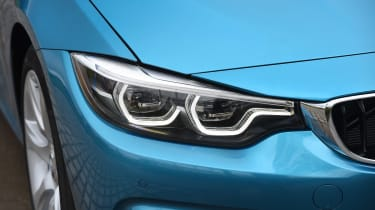 BMW 440i - front lights