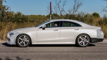Mercedes CLS Catalonia side