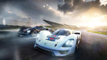 Porsche Vision GT Concept -