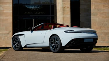 Aston martin Henley Royal Regatta DB11 Volante  rear