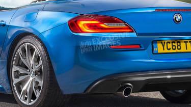 BMW Z4 - rear detail (exclusive images)