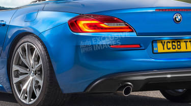 BMW Z4 - rear detail (exclusive images)