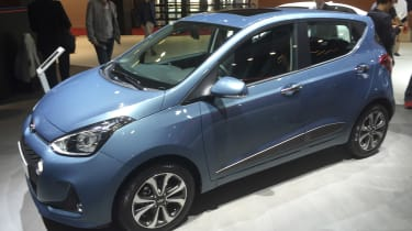 Hyundai i10 facelift - Paris side