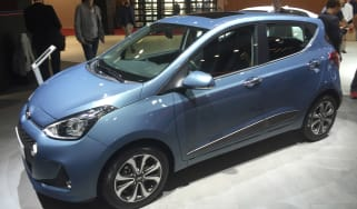 Hyundai i10 facelift - Paris side