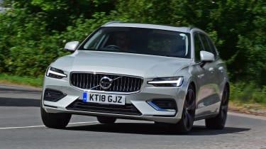 Volvo V60 - front action