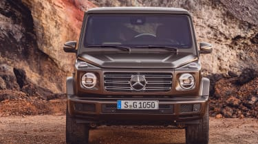 Mercedes G-Class - full front static