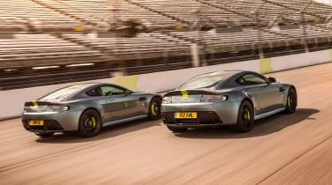 Aston Martin Vantage AMR specials - rear
