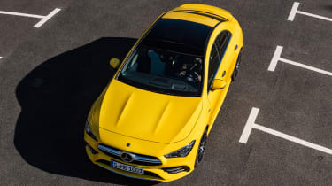 Mercedes-AMG CLA 35 - front above