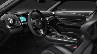 Nissan GT-R50 by Italdesign prototype cabin