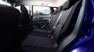 Nissan Qashqai 1.2 DIG-T 2017 - rear seats