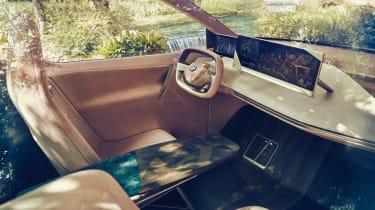 BMW Vision iNEXT concept - dash