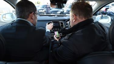 Volvo XC90 long term - inside car