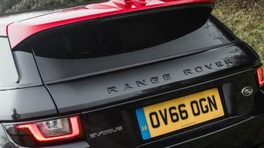 Range Rover Evoque Ember - rear detail