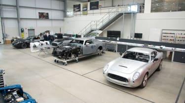 David Brown Automotive workshop
