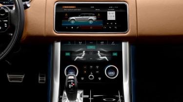 Range Rover Sport - centre console