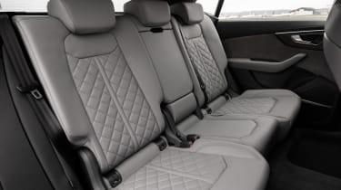 Audi SQ8 - rear seats