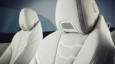 BMW 8 Series Convertible - air scarf
