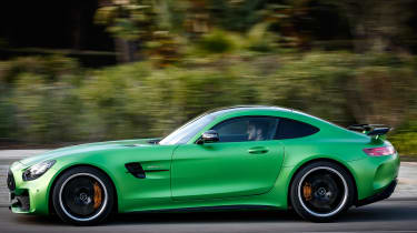 Mercedes-AMG GT R - road side tracking