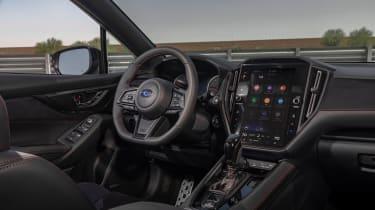 Subaru WRX 2022 - interior