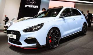 Frankfurt - Hyundai i30 N - front