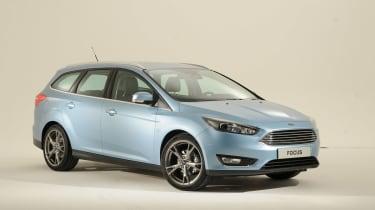 Ford Focus 2014 facelift estate front