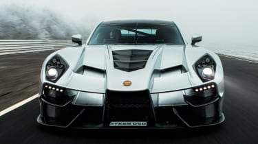 New Ginetta supercar front end