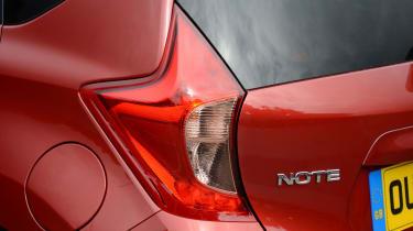 Nissan Note rear light