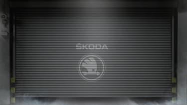 Skoda SUV teaser image