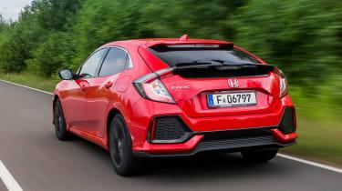 Honda Civic 1.6-litre diesel - rear