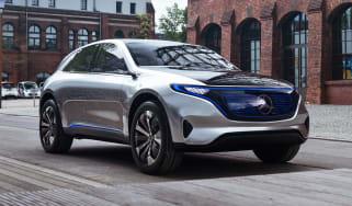 Mercedes EQ Concept - front