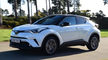 Used Toyota C-HR - front action