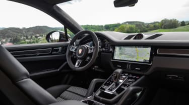 Porsche Cayenne Turbo Coupe - cabin
