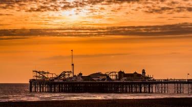 London to Brighton Veteran Car Run  -  Brighton
