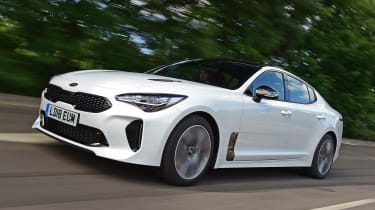 Kia Stinger long-term test: first report - front action