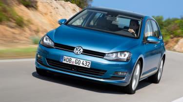 Volkswagen Golf 1.4 TSI front tracking