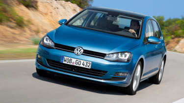 Volkswagen Golf 1.4 TSI front tracking