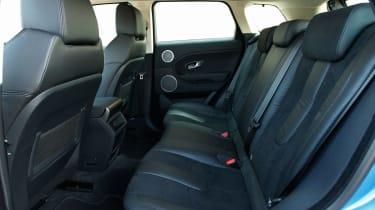 Range Rover Evoque 2WD rear seats