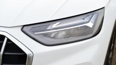 Audi Q5 40 TDI - front lights